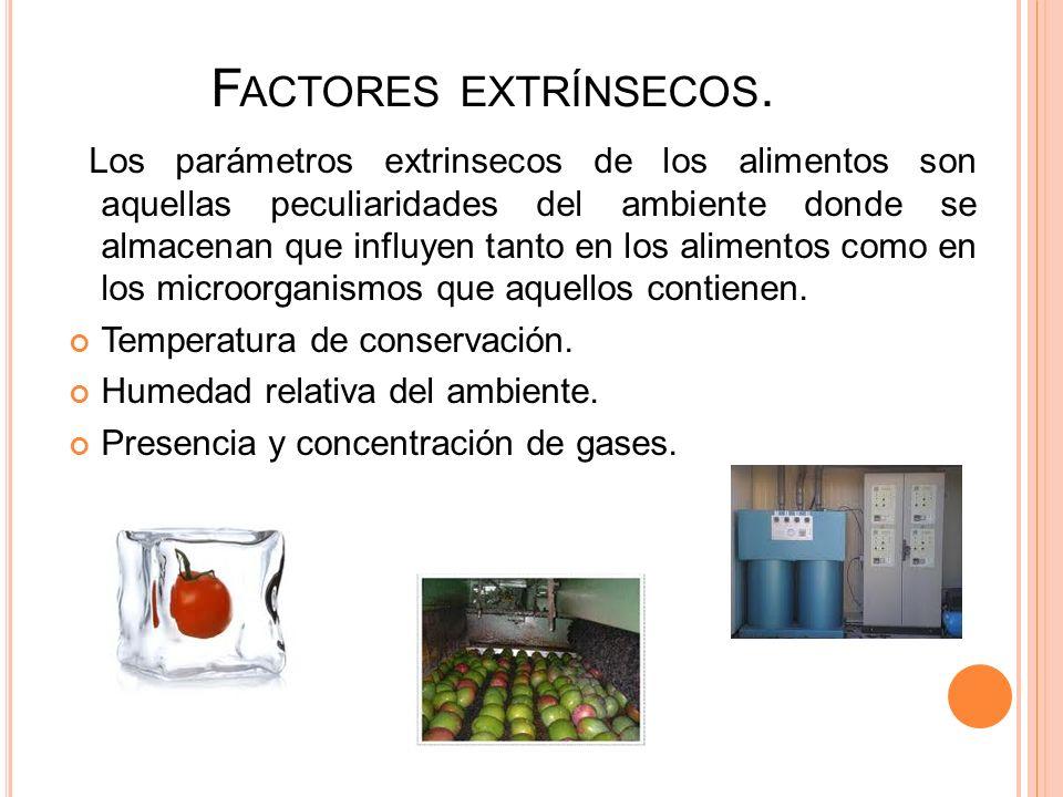 Factores extrínsecos.