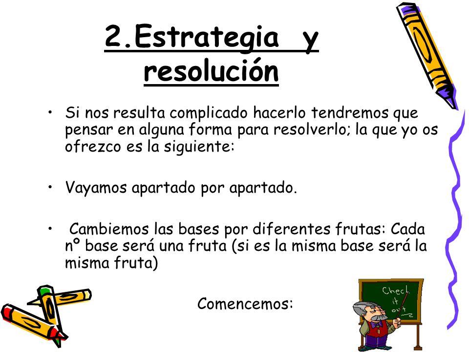 2.Estrategia y resolución