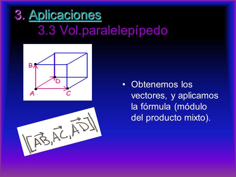 3. Aplicaciones 3.3 Vol.paralelepípedo