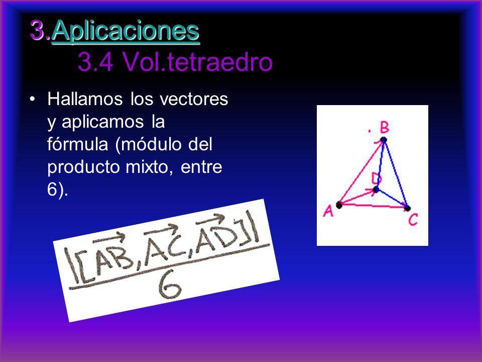 3.Aplicaciones 3.4 Vol.tetraedro