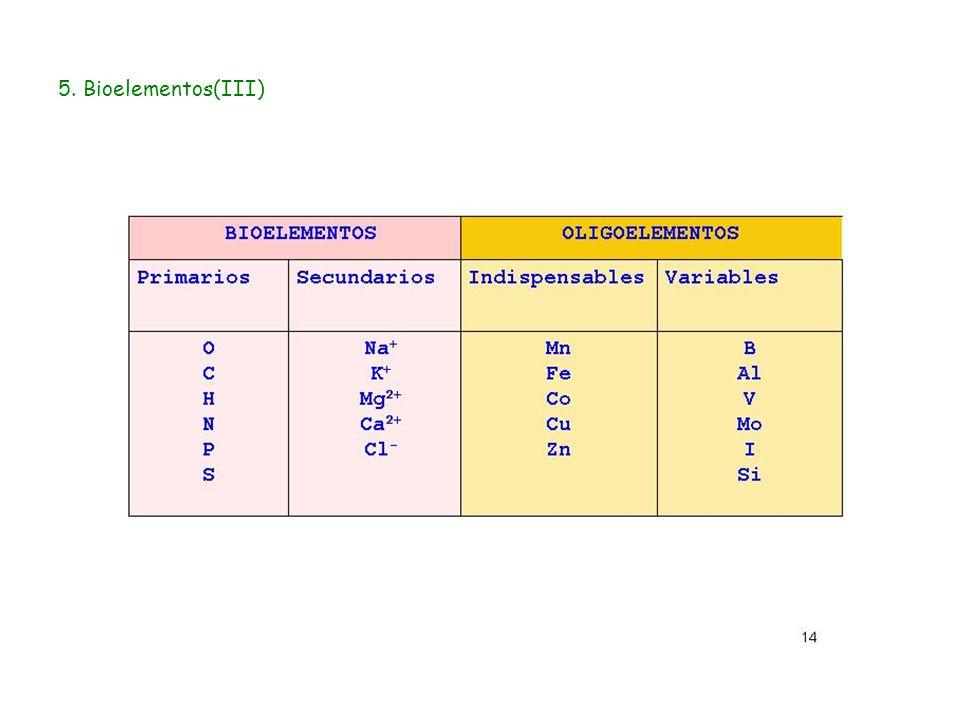 5. Bioelementos(III)