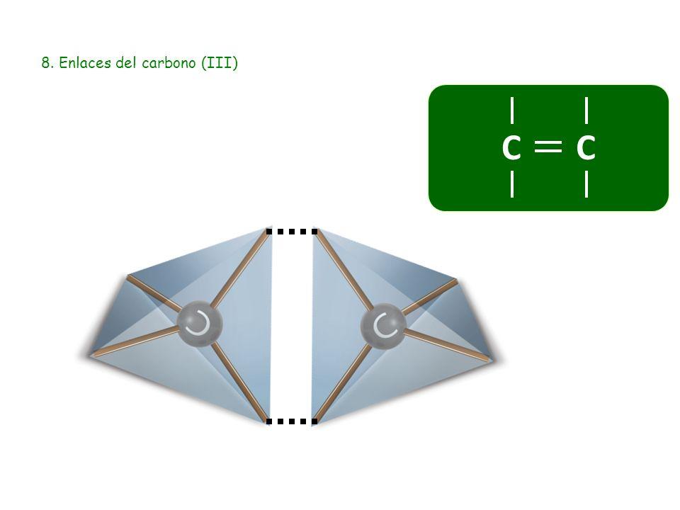 8. Enlaces del carbono (III)