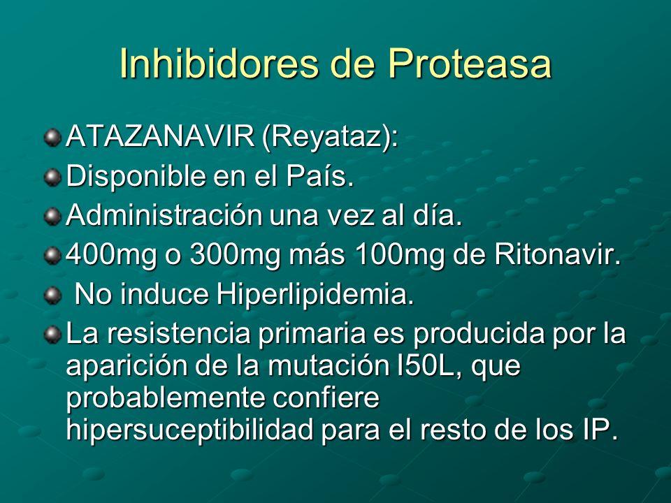 Inhibidores de Proteasa