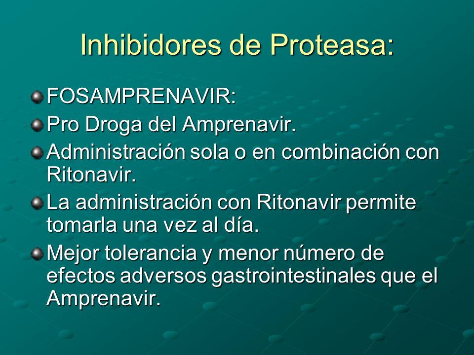 Inhibidores de Proteasa: