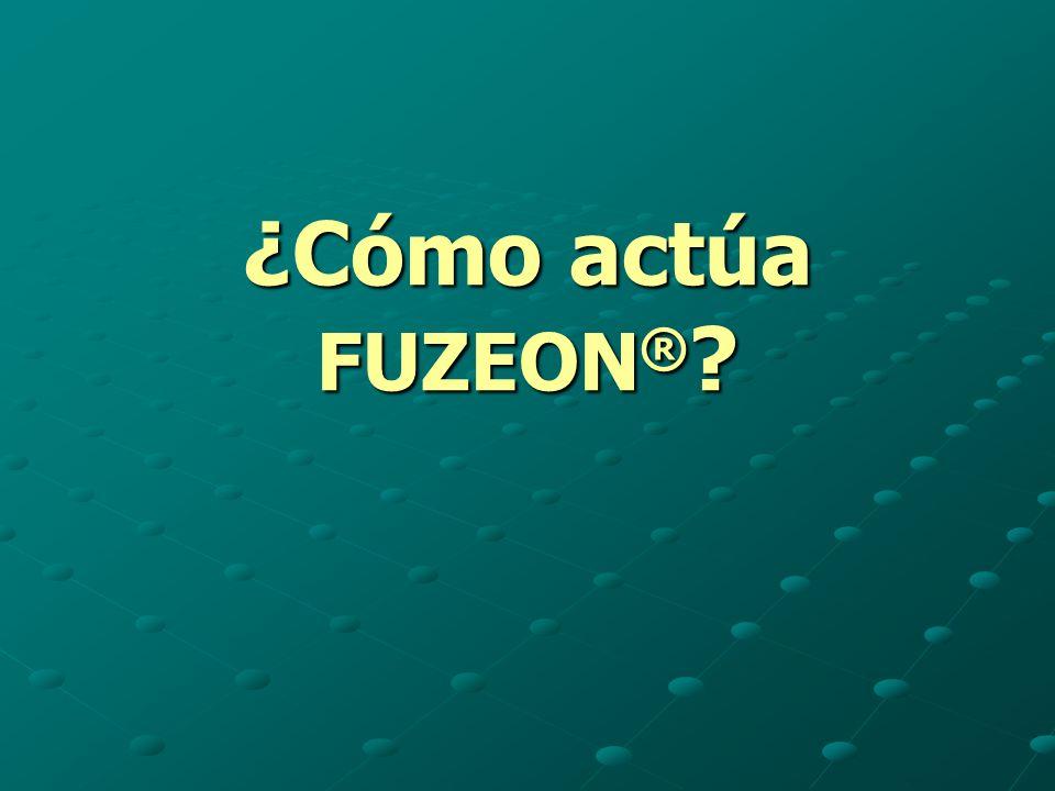 ¿Cómo actúa FUZEON®