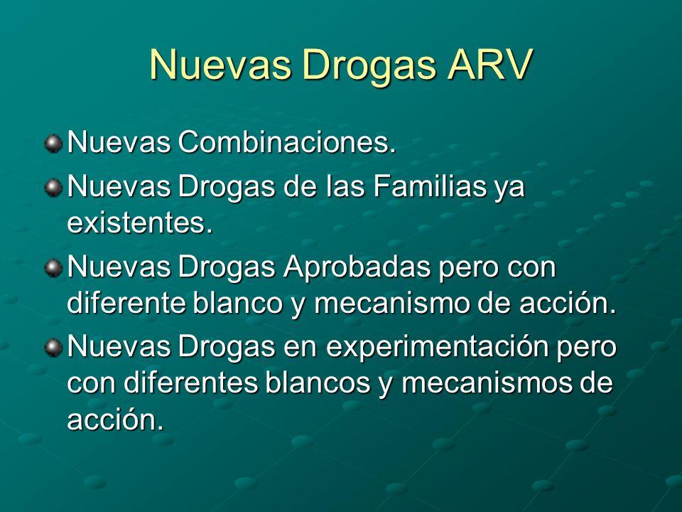 Nuevas Drogas ARV Nuevas Combinaciones.