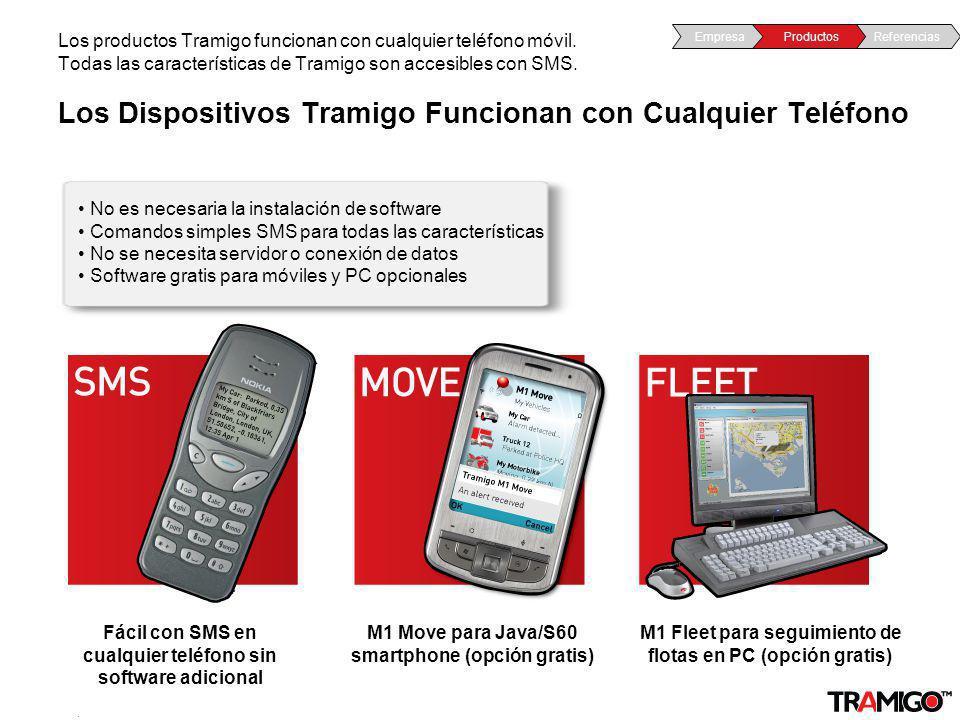Los Dispositivos Tramigo Funcionan con Cualquier Teléfono