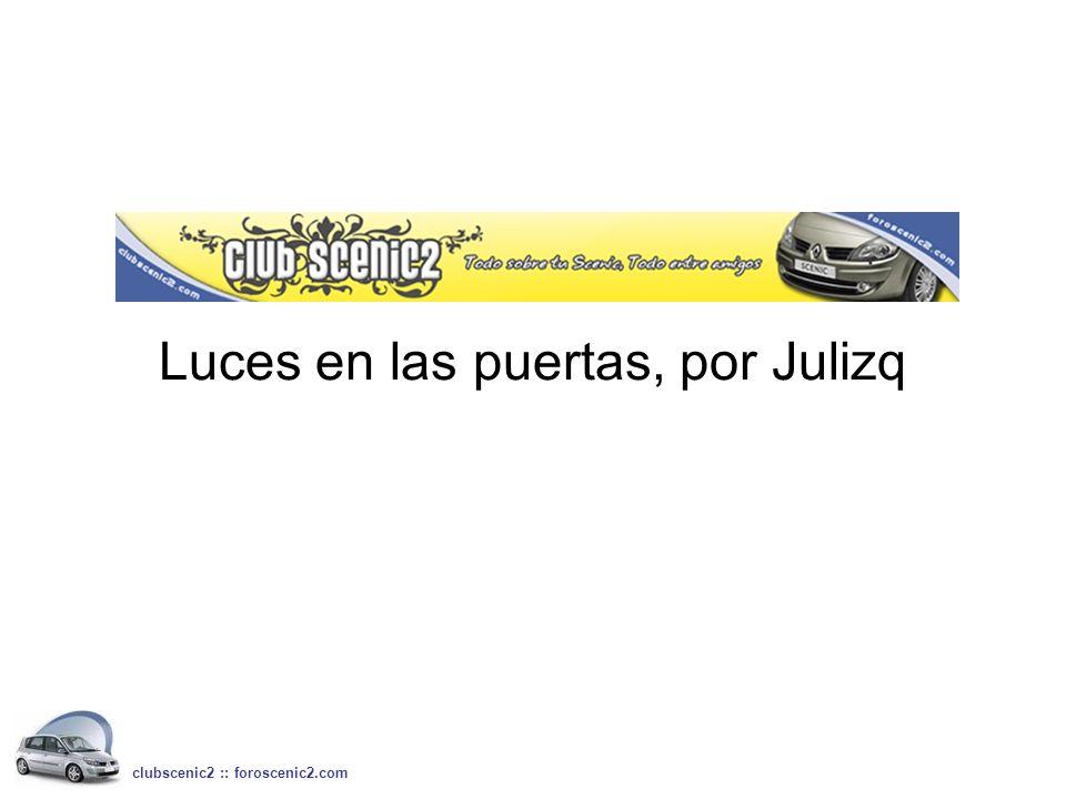 Luces en las puertas, por Julizq
