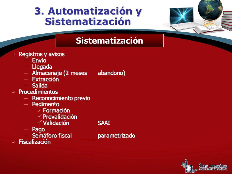 3. Automatización y Sistematización