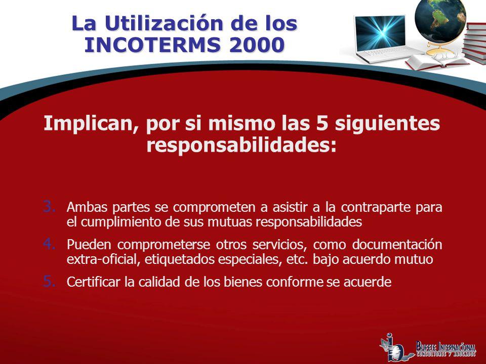 La Utilización de los INCOTERMS 2000