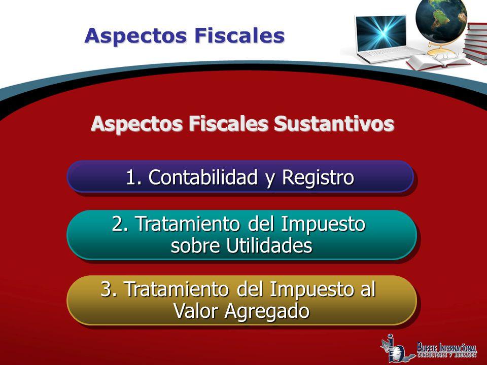Aspectos Fiscales Sustantivos