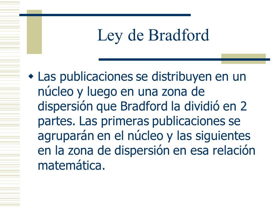 Ley de Bradford