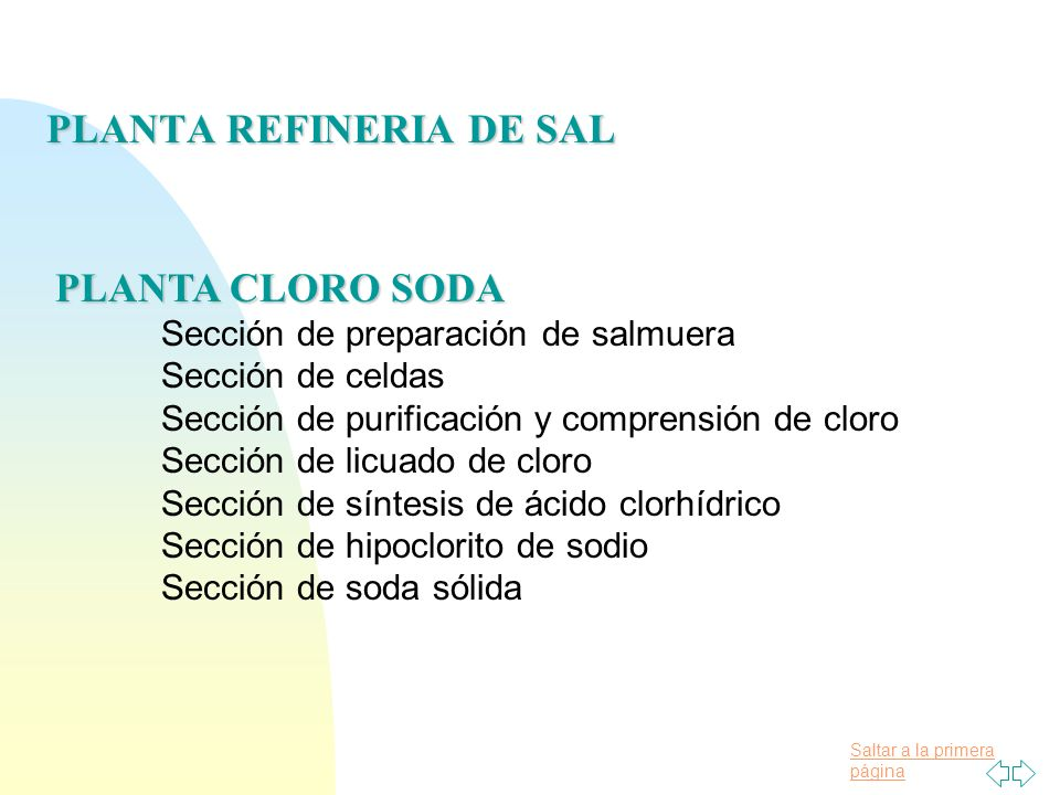 PLANTA REFINERIA DE SAL