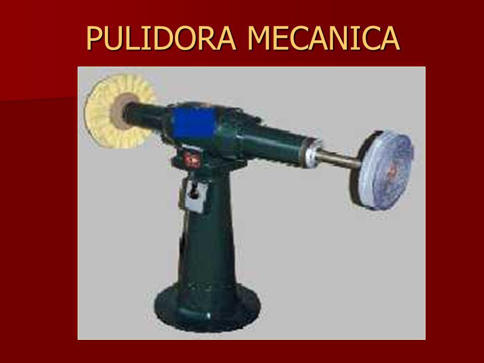PULIDORA MECANICA