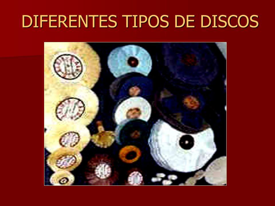 DIFERENTES TIPOS DE DISCOS