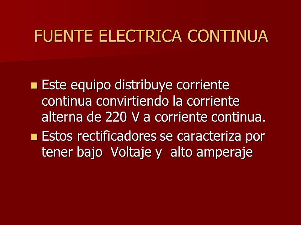FUENTE ELECTRICA CONTINUA