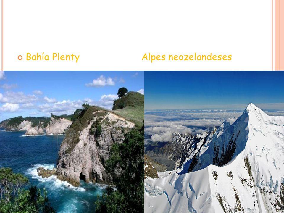 Bahía Plenty Alpes neozelandeses