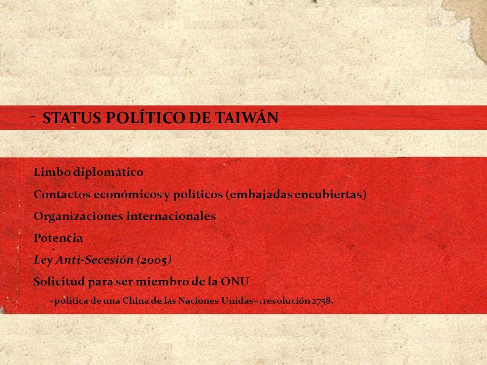 Contactos económicos y políticos (embajadas encubiertas)