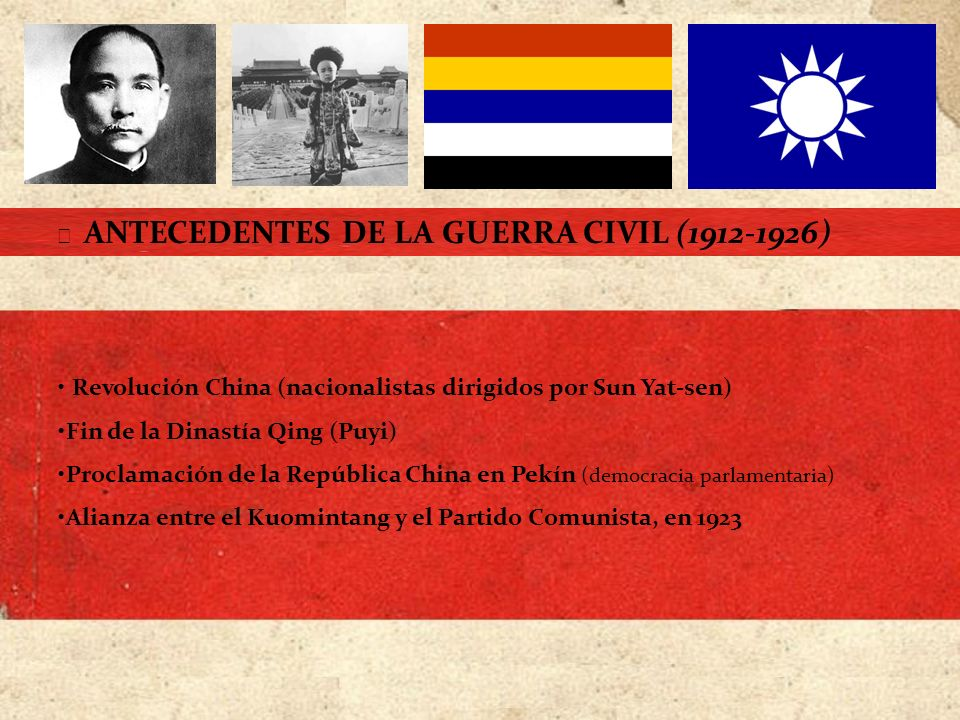 Revolución China (nacionalistas dirigidos por Sun Yat-sen)