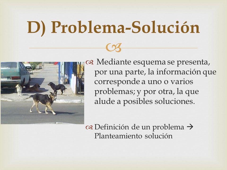 D) Problema-Solución