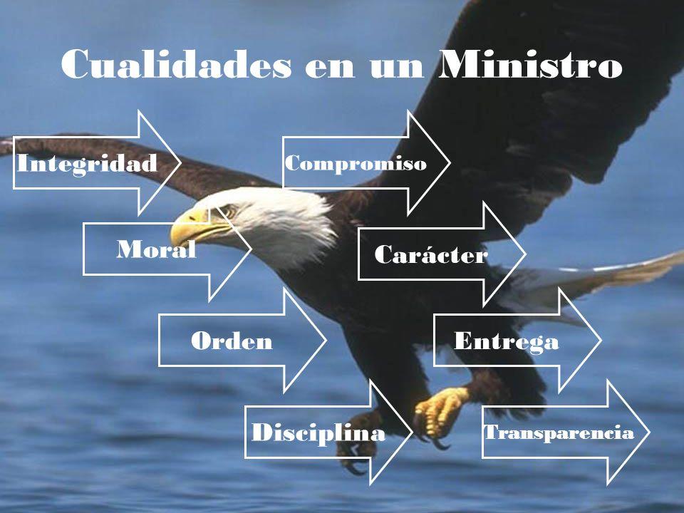 Cualidades en un Ministro