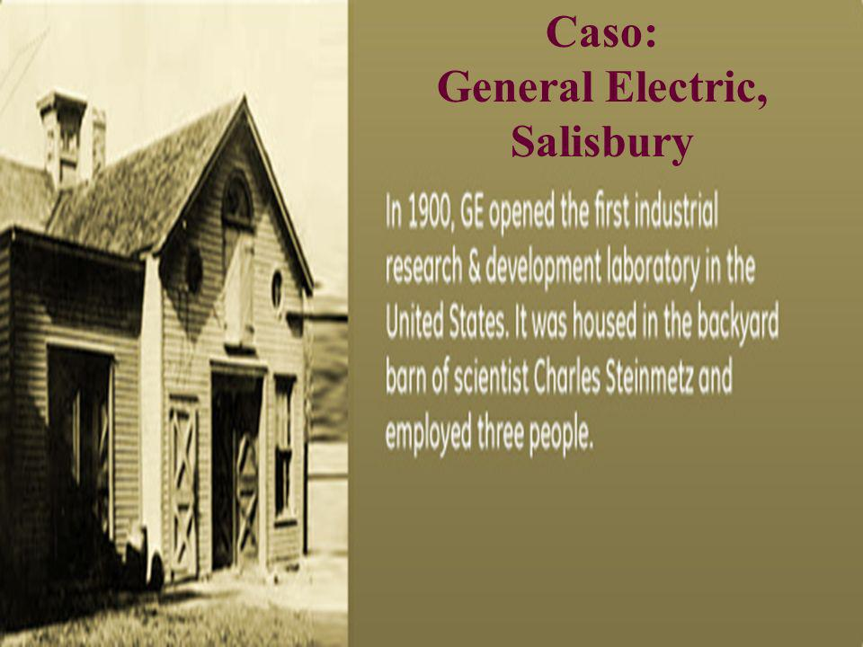 Caso: General Electric, Salisbury