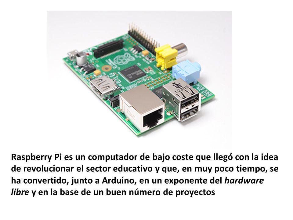 Raspberry Pi es un computador de bajo coste que llegó con la idea de revolucionar el sector educativo y que, en muy poco tiempo, se ha convertido, junto a Arduino, en un exponente del hardware libre y en la base de un buen número de proyectos