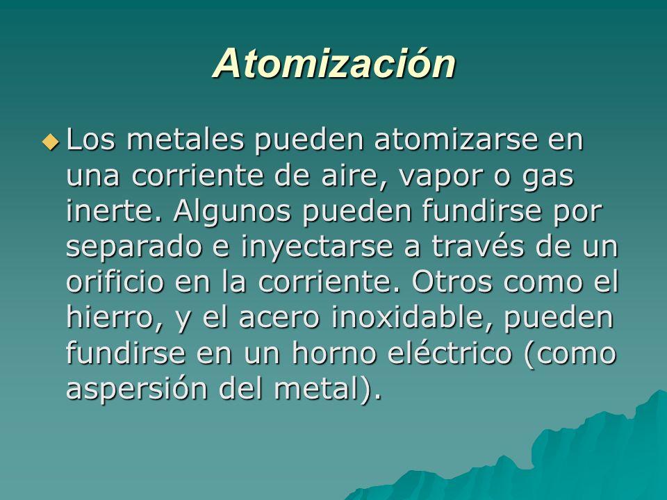Atomización