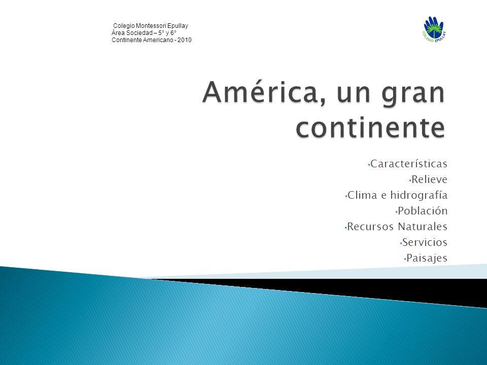América, un gran continente