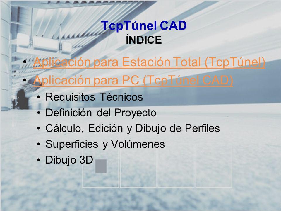 Aplicación para Estación Total (TcpTúnel)