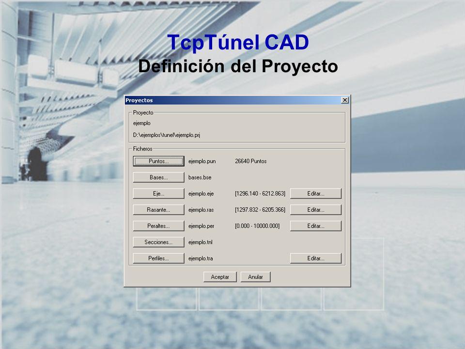 TcpTúnel CAD Definición del Proyecto