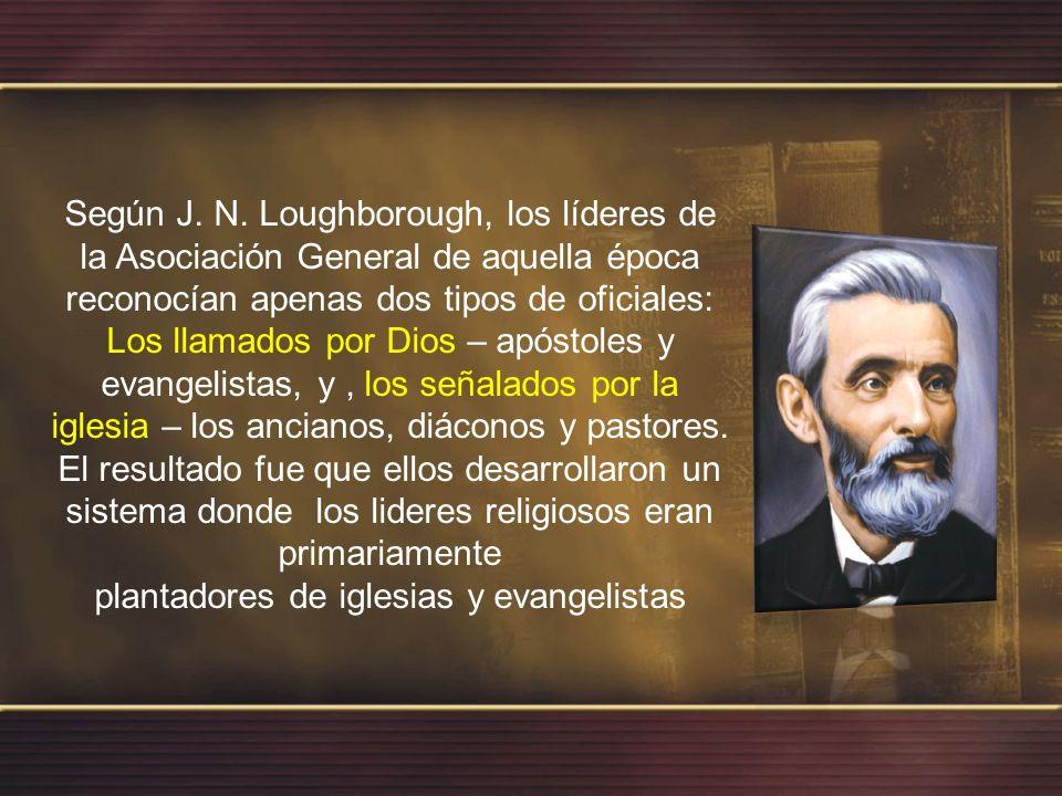 plantadores de iglesias y evangelistas