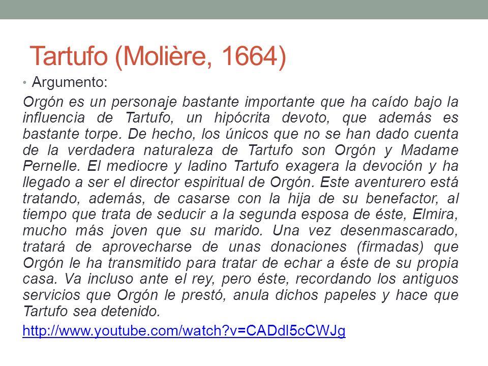 Tartufo (Molière, 1664) Argumento: