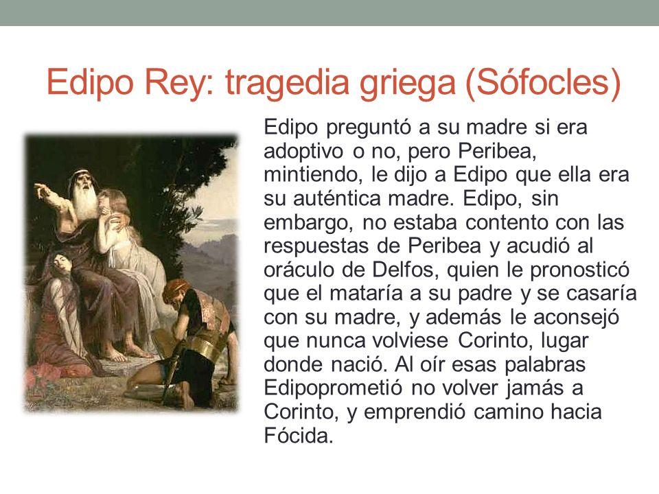 Edipo Rey: tragedia griega (Sófocles)