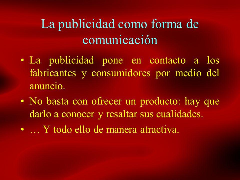 La publicidad como forma de comunicación