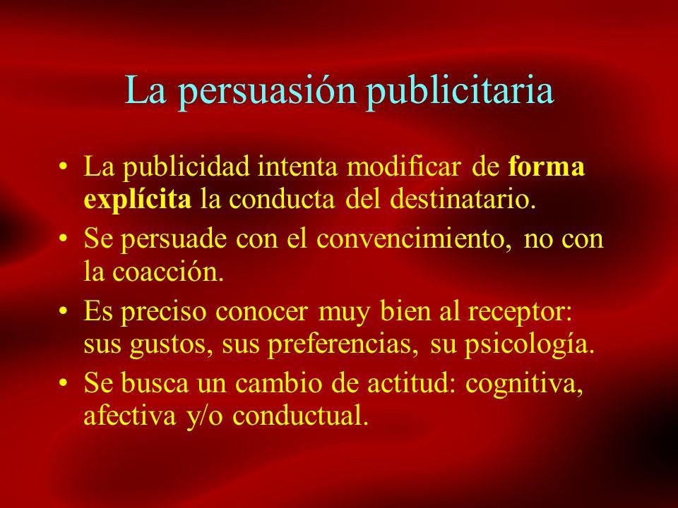 La persuasión publicitaria
