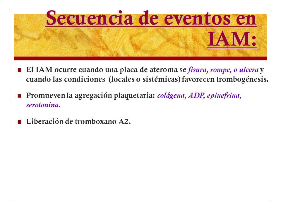 Secuencia de eventos en IAM: