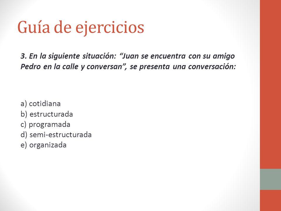 Guía de ejercicios