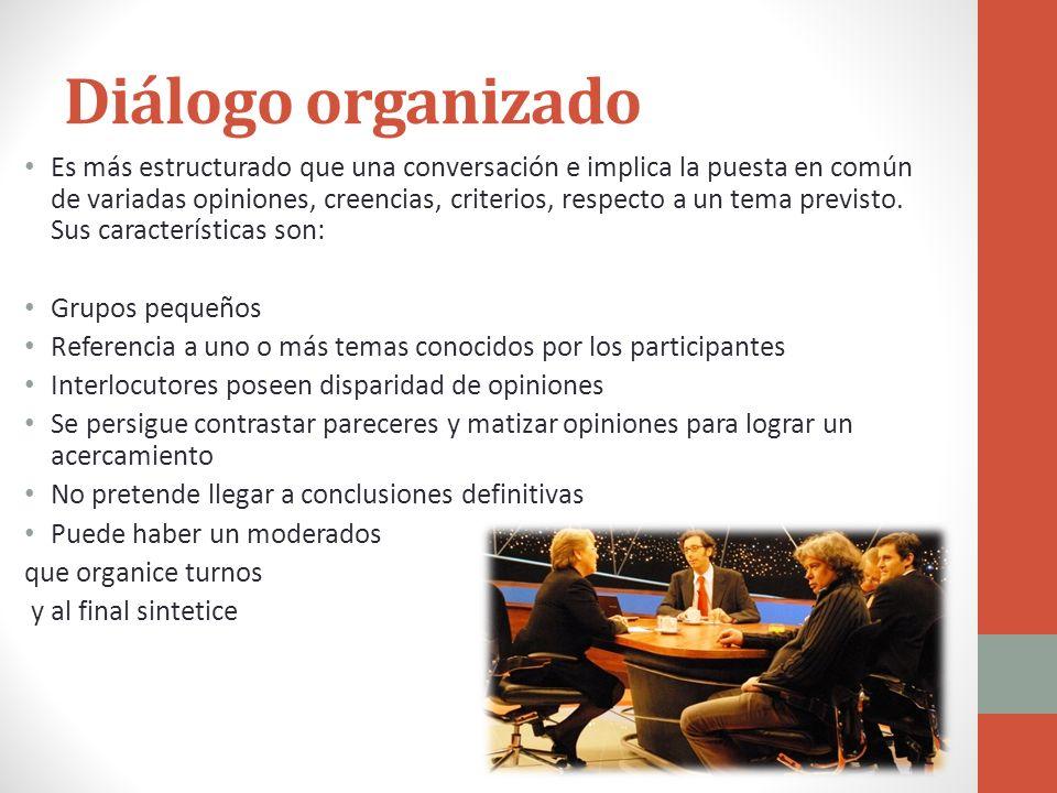 Diálogo organizado