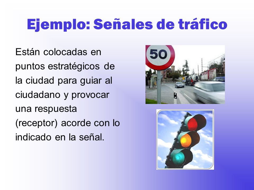 Ejemplo: Señales de tráfico