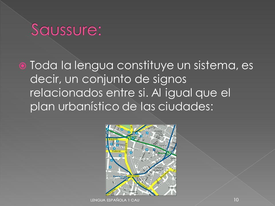Saussure: