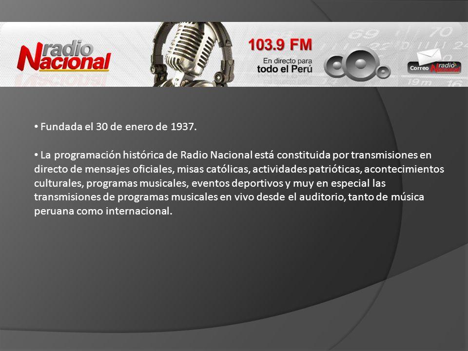 Fundada el 30 de enero de 1937.