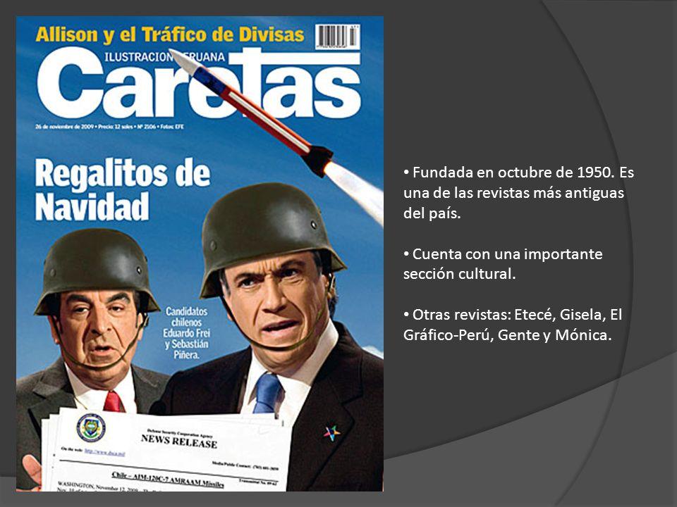 Fundada en octubre de 1950. Es una de las revistas más antiguas del país.