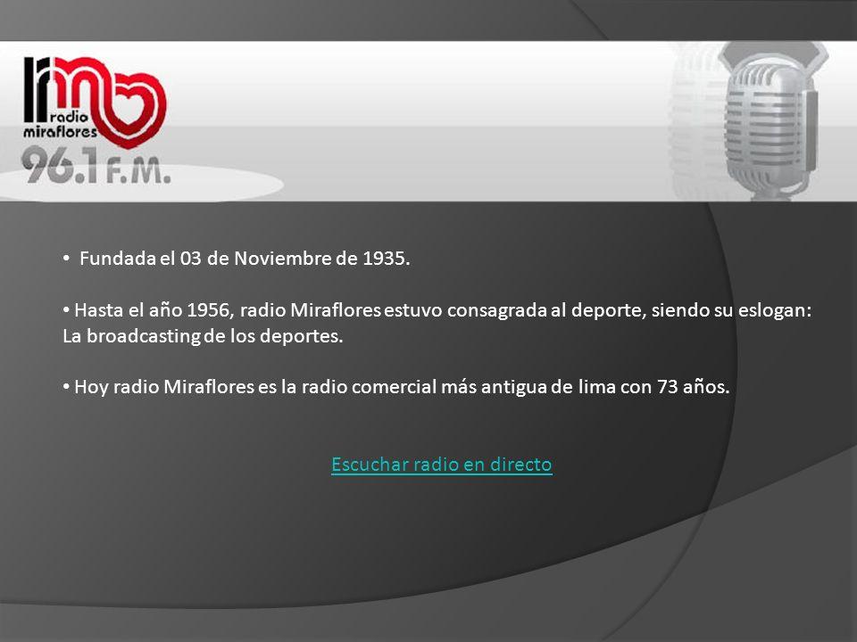 Escuchar radio en directo
