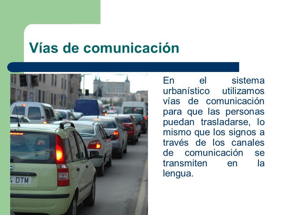 Vías de comunicación