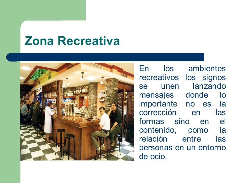 Zona Recreativa