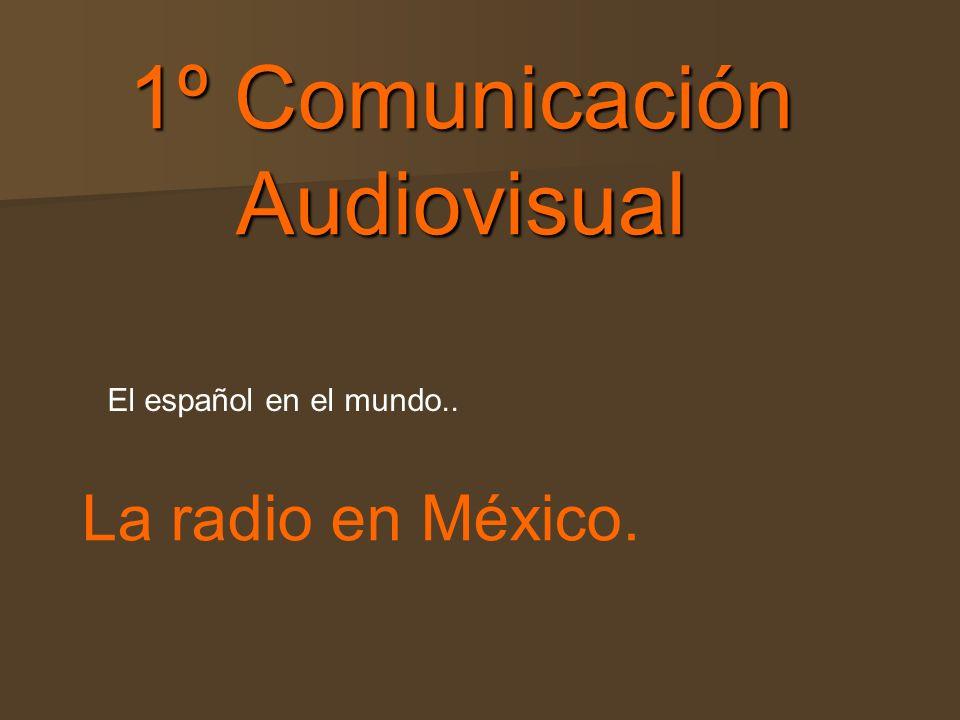 1º Comunicación Audiovisual