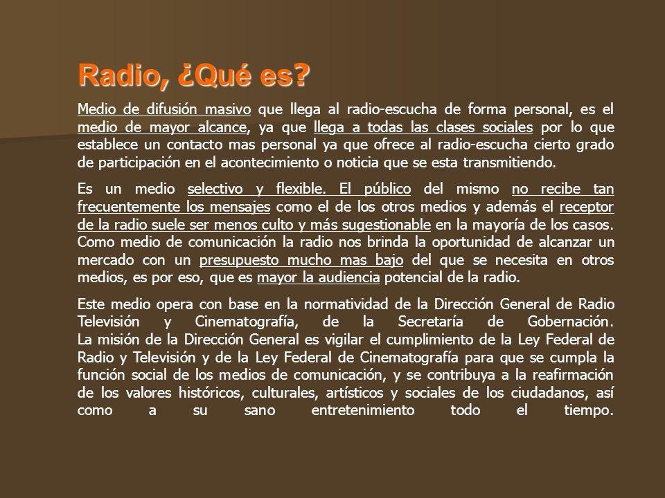 Radio, ¿Qué es