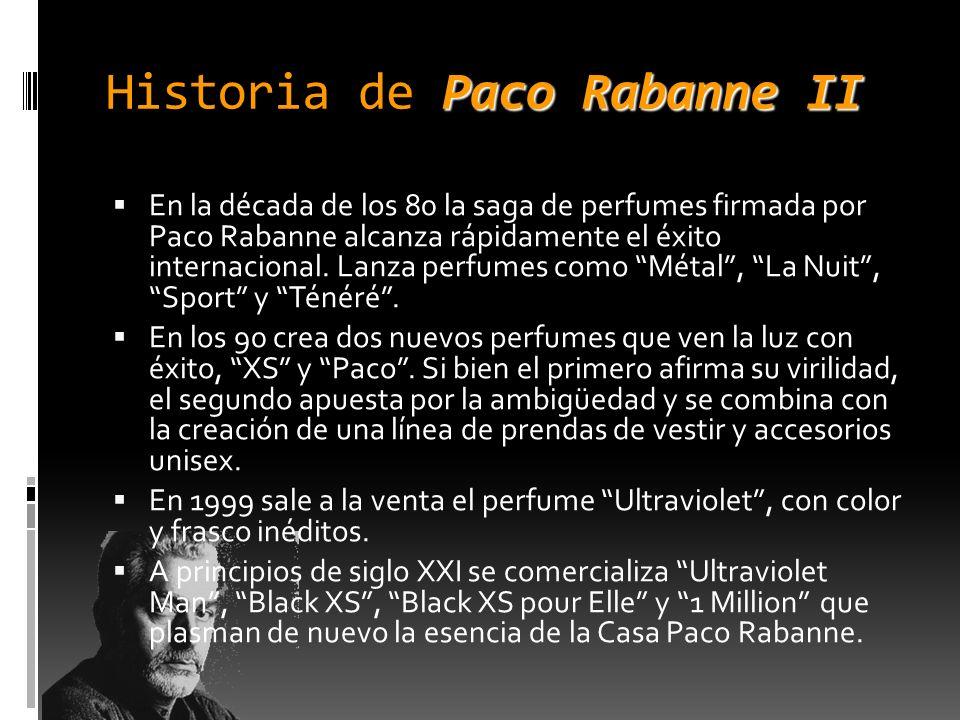 Historia de Paco Rabanne II