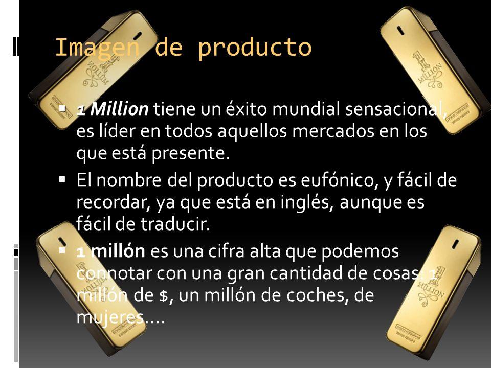 Imagen de producto 1 Million tiene un éxito mundial sensacional, es líder en todos aquellos mercados en los que está presente.